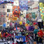 Rijeka, 100213.30. Rijecki karneval usao je u zavrsnicu velikom medjunarodnom povorkom u kojoj je sudjelovalo vise od 8000 sudionika u vise od stotinu maskaranih skupina. Na fotografiji: detalj s karnevalske povorke.Foto: Tea Cimas / CROPIX