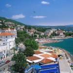 Blick auf Opatija, Halbinsel Istrien, Kroatien